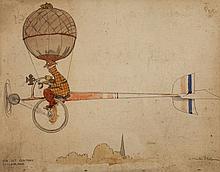 Robinson (William Heath) - 'The 21st Century Cycloplane'