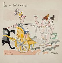 Ffolkes (Michael, 1925-1988) - L is for Lesbos