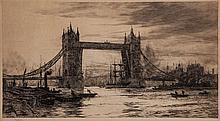 Wyllie (William Lionel, R.A.) - Tower Bridge,