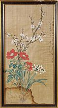 A group of eight Chinese paintings in inks and