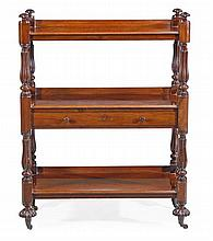 A William IV mahogany buffet, circa 1835, with