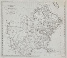 Kitchin (Thomas) - North America Drawn from the latest and best Authorities,