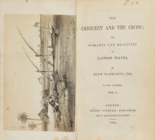 -. Warburton (Eliot) - The Crescent and the Cross,