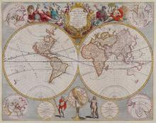 Senex (John) - A New Map of the World, From the Latest observations,