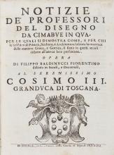 Baldinucci (Filippo) - Notizie De Professori Del Disegno Da Cimabue In Qua,