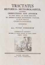 Horrebow (Peder) - Tractatus Historico-Meterologicus...,