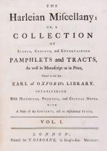 Johnson (Samuel - , editor ) The Harleian Miscellany, 8 vol