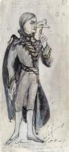 Hurry (Leslie) - Costume design for Sunin in Tchaikovsky's opera