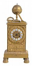 A French Empire ormolu mantel clock, early 19th century