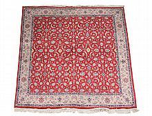 A Tabriz carpet , approximately 280 x 288cm