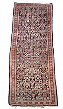 A Mahal runner, approximately 108 x 406cm