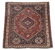 A Quashhqai rug, approximately 186 x 154cm