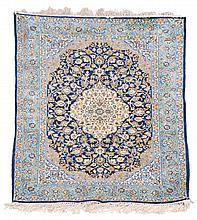 An Esfehan rug, approximately 107 x 150cm