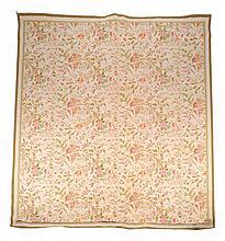 A woven carpet, of floral design, 20th century, 297 x 399cm