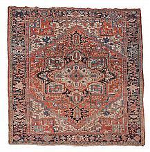 A Heriz carpet, approximately 227 x 307cm