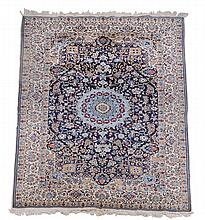 A Nain carpet, approximately 225 x 307cm