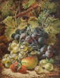 Oliver Clare (1853-1927), Still life of fruit on a