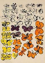 Andy Warhol (1928-1987) - Happy Butterfly Day