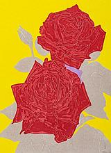 Gary Hume (b.1962) - Two Roses
