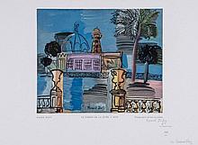 Raoul Dufy (1877-1953)(after) - Le Casino de la Jetée a Nice