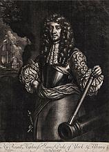 Lely (Sir Peter) After. - Charles the Second, His Royall Highness James Duke of of York and Albany,