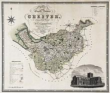 Greenwood (C.&J.;) - Map of the County Palatine of Chester,