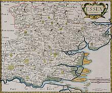 England-. Morden (Robert) - A group of 7 English county maps,