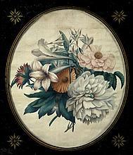 English School (19th Century) - Bouquet of Flowers,