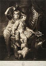 Barney (William Whiston, fl. 1805-1817) - George Spencer, Earl of Sunderland, and Lord Charles Spencer