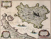 Italy.- Blaeu (Johannes) - Ischia Isola, olim Aenaria