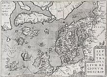 Ortelius (Abraham) - Septentrionalium Regionum Descrip.
