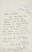 Autographs.- - Album, including: autographs of Queen Victoria, Lord Salisbury