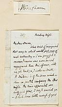 Browning - Autograph Letter signed to