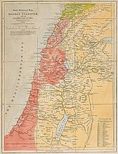 Levant.- Moxon - Paradise or The Garden of Eden With the Countries circumjacent Inhabited by the Patriarchs,