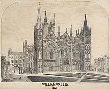 Wallis (William) - Peterborough Cathedral,
