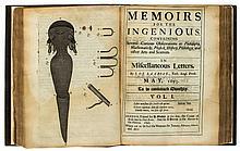 Lacroze (Jean Cornand de) - Memoirs for the Ingenious...,