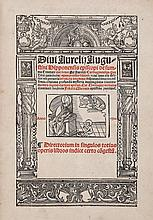 Augustine, - Bishop of Hippo. de Summa Trinitate, double column