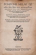 Mela (Pomponius) - De Orbis Situ libri Tres,