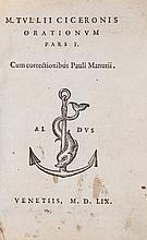 Cicero (Marcus Tullius) - Orationum,