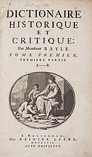 Bayle (Pierre) - Dictionaire Historique et Critique,