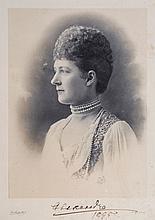 Henry Van der Weyde (1838-1924) - Queen Alexandra