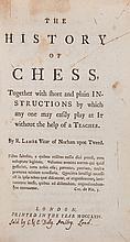 Lambe (Robert) - The History of Chess,