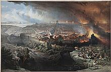 Roberts (David) After. - The Siege and Destruction of Jerusalem by the Romans under the Command of Titus, AD 70,