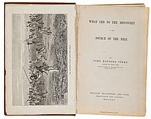 Speke (John Hanning) - What Led to the Discovery of the Source of the Nile,