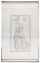 America.- Burr (David H.) - An Atlas of the State of New York.