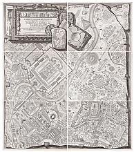 Italy.- Piranesi (Giovanni Battista) - Ichnographiam Campi Martii antiquae urbis,