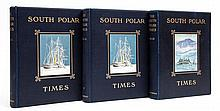 Shackleton (Ernest H.) and - others, editors. The South Polar Times, 3 vol., first edition, vol