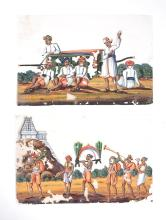 An Indian painting on Mica, Patna, mid 19th century