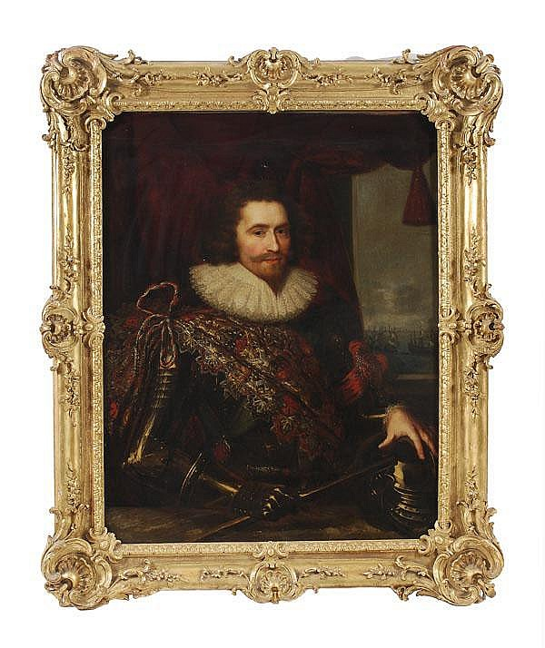 Dutch School (17th century) Portrait of a