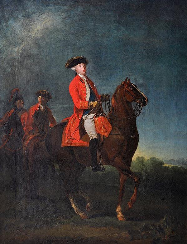 Martin Ferdinand Quadal (1736-1808) Equestrian